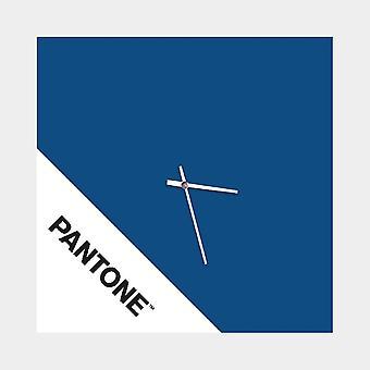 PANTONE Montre Double Couleur Bleu, Blanc, Noir, en Métal L40xP0,15xA40 cm