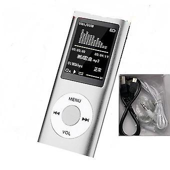 Music Player Radio Hifi Mp3 Player Digital Lcd Screen Voice Recording Fm