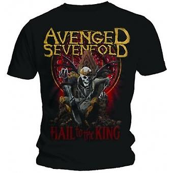 Avenged Sevenfold New Day Rises Black T Shirt: X Large