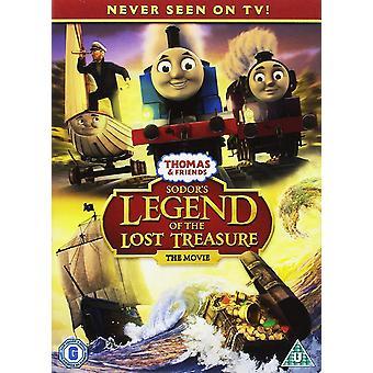 Thomas &Friends - Sodor's Legend Of The Lost Treasure DVD