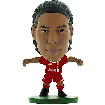 SoccerStarz Van Dijk Liverpool FC Van Dijk Home Kit 2020 Figur