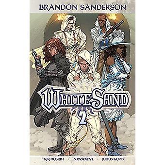 Brandon Sandersonin White Sand Volume 2 TP kirjoittanut Rik Hoskin, Brandon Sanderson (Paperback, 2019)