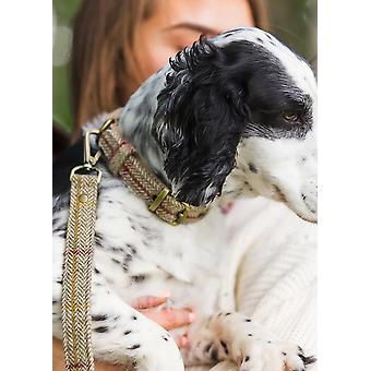 Luxe Tweed Dog Lead