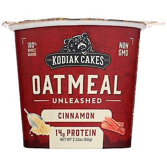 Kodiak Oatmeal Cinmn Cup, Case of 12 X 2.12 Oz