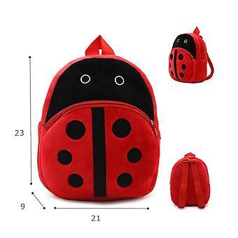 Girls Cute Plush Backpacks Unicorn Kindergarten 3d Cartoon School Bags