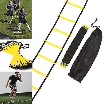 8 Rung 12 voet 4m behendigheid ladder voor voetbal snelheid training duurzame outdoor