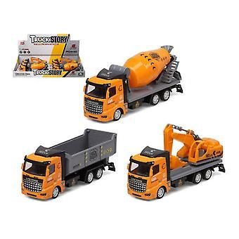 Truck Public Works Yellow