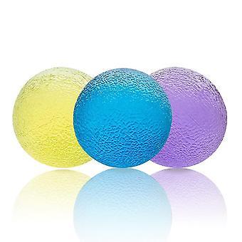 3st Jelly Grepp Boll Fidget Leksaker Återhämtning Stress Relief Leksaker