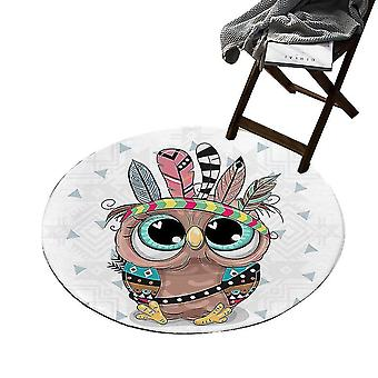 Doormats Cute Big Eyes Pug Pattern Indoor Outdoor Funny Non Slip Durable(GROUP1)