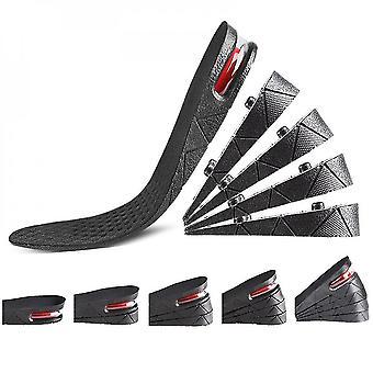 5 Layer High Increase Shoe Insoles Lifts Shoe Pad Lift  Air Cushion