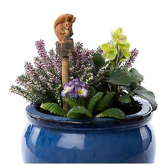 Cane Companions Beatrix Potter Squirrel Nutkin Stake Topper Colorful Ornament