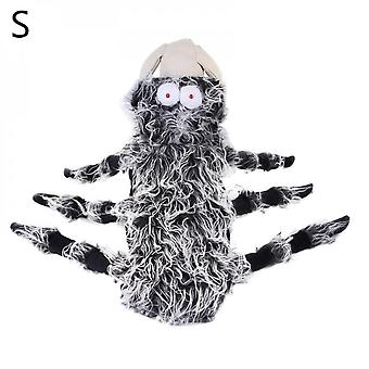 Warm Pet Costume Spider Halloween Dog Cat Cosplay Apparel  Lovely Dress Up Accessories For Holidays Party Halloween Costume Decoration