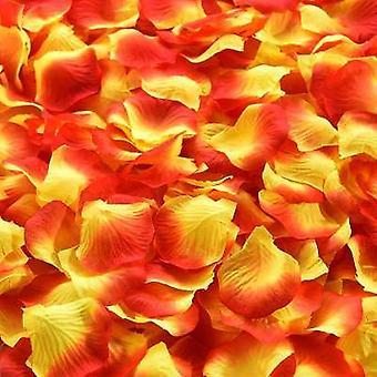 1000/3000Pcs colorful artificial rose petals wedding petalas birthday silk flower petal accessories wedding romantic rose decor