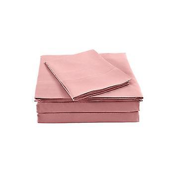 Royal Comfort Bamboo Blended Sheet And Pillowcases Set King