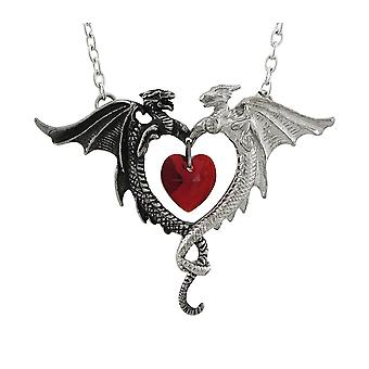Alchemy Gothic Coeur Sauvage Dragon riipus / kaulakoru