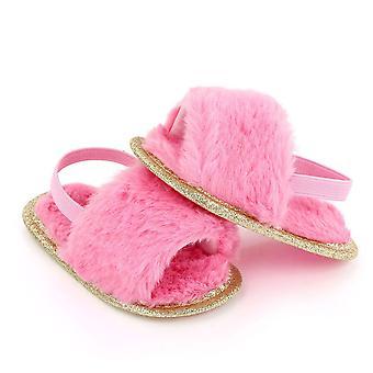 Fashion Kids Fur Sandals