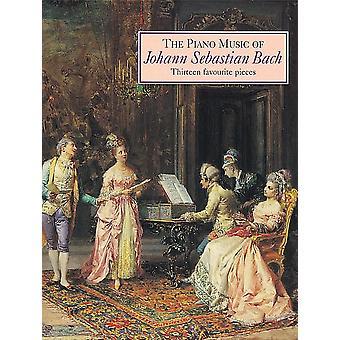 Piano musik av Bach