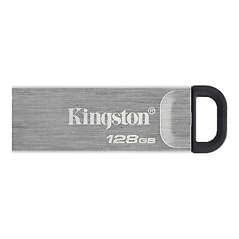 Cache memory technology datatraveler kyson usb flash drive 128 gb usb type-a 3.2 Gen 1 3.1 Gen 1 silver