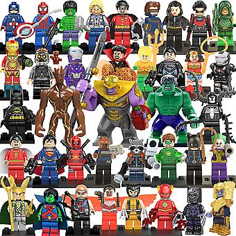 38 Avengers Hero Waschbär Baum Mann Super Bösewicht Montage Baustein Minifigur Spielzeug