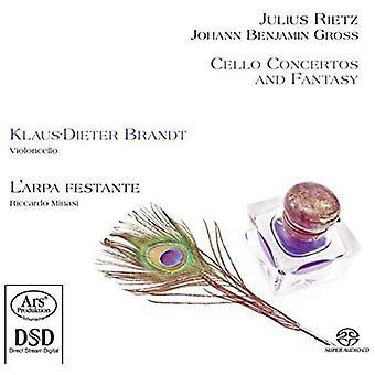 Rietz / Gross / Brandt / Minasi - Cello Concertos & Fantasy [SACD] USA import