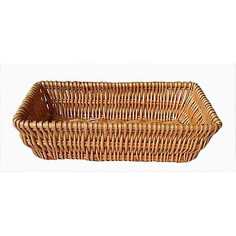 Jumbo Wicker Packaging Wicker Tray