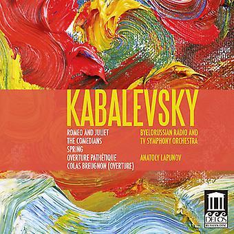 D. Kabalevsky - Kabalevsky: Romeo and Juliet; the Comedians; Overtures [CD] USA import