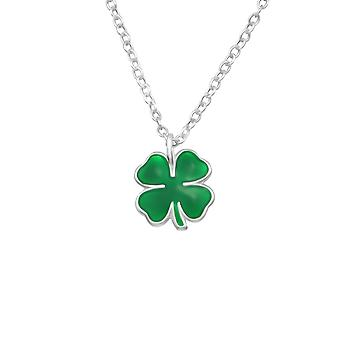Clover - 925 Sterling Silver Necklaces - W25054X