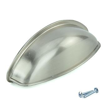 M4TEC Cup Kitchen Cabinet Door Handles Cupboards Drawers Bedroom Furniture Pull Handle Stainless Steel. S4 series