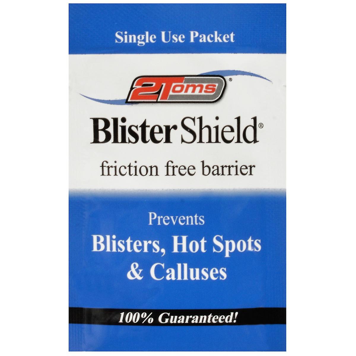 2Toms enda användning Blister sköld friktion gratis pulver - 1 pake...