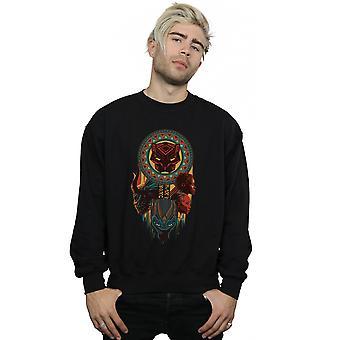 Marvel mænds Black Panther Totem Sweatshirt