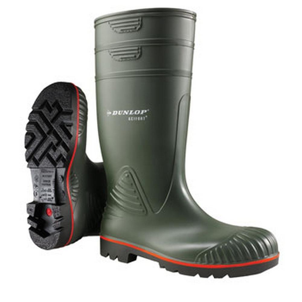 Dunlop Mens Acifort Heavy Duty Full Sikkerhet Gummistøvler