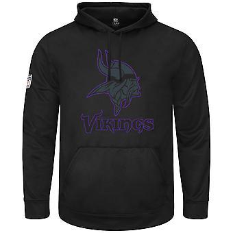 Majestic HEATHLY Hoody - NFL Minnesota Vikings Black