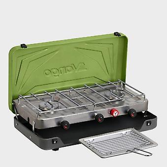 Nuovo Vango Combi Infrared Grill Cooker Attrezzatura da cucina verde