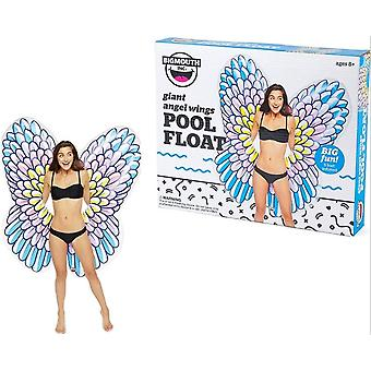 Grande bouche gonflable géant 5Ft Angel Wings Float Beach Holiday natation Lounger eau plage piscine
