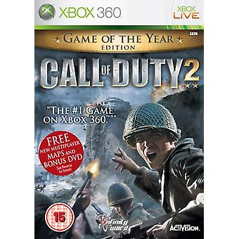 Call of Duty 2 Game of the Year Edition (Xbox 360) - Nowość