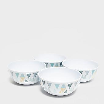 New Eurohike Campsite Dinner Bowls Assorted