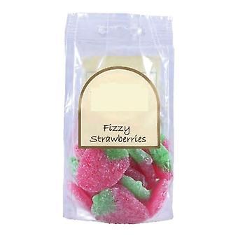 170g sac de bonbons aux fraises pétillantes