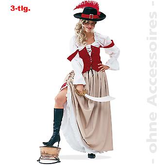 Les mers Mesdames Costume Pirate pirate costume de Lady pirate de Lady pirate mariée