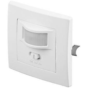 Goobay 96005 Flush mount PIR motion detector 160 ° Triac White IP20