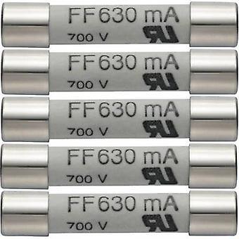 testo 0590 0007 0590 0007 Säkring Multimetersäkring 5st uppsättning reservsäkringar 630 mA/600 V 1 st