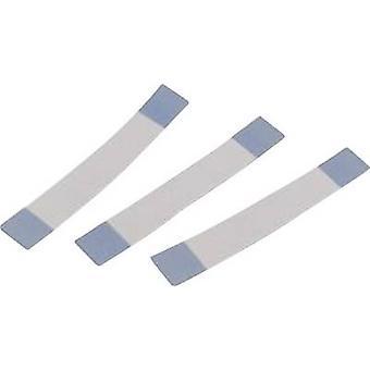 Würth אלקטרונית 687606050002 כבל רצועת הכלים 6 x 0.00099 מ ר אפור, כחול 1 pc (עם)