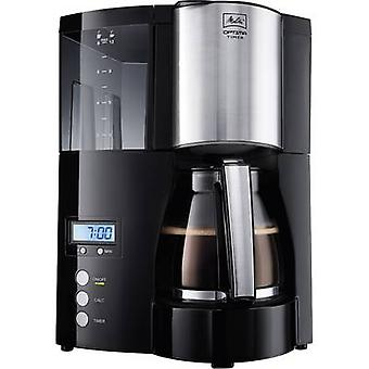 Melitta Optima Timer black Coffee maker Black 850 W Cup volume=12 Timer