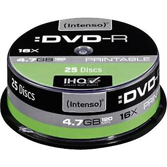 Intenso 4801154 Blank DVD-R 4.7 GB 25 pc(s) Spindle Printable