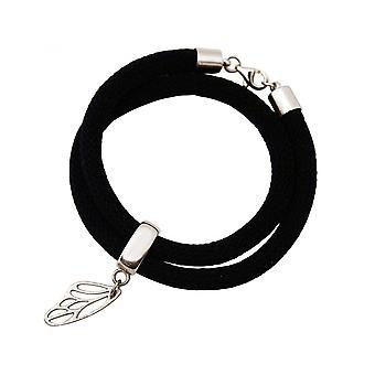 -Bracelet - bracelet - 925 Silver - Butterfly - black