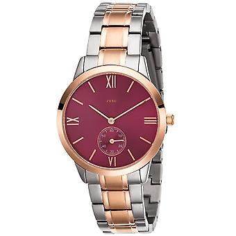 Women's wristwatch Quartz Analog stainless steel bicolor gold plated ladies watch