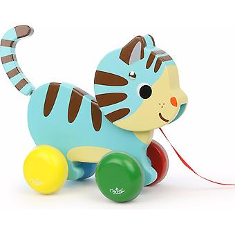Vilac Marcel The Cat Pull-Along Toy