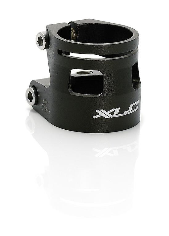 Black SEAT CLAMP FOR DH//FREERIDE 27.2//31.8mm XLC