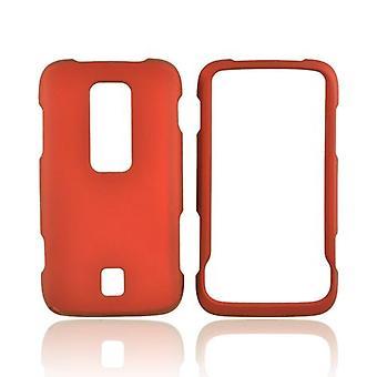 Snap-On cas pour Huawei Ascend M860 (rouge-Orange)