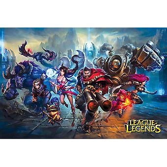League Of Legends Gaming Poster Print