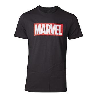Marvel Comics Mens Box Logo Short Sleeve T-Shirt Medium (TS226424MVL-M)